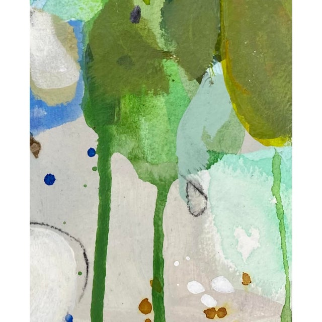 """Contemporary """"Every Step"""" Contemporary Abstract Mixed-Media Painting by Gina Cochran For Sale - Image 3 of 4"""