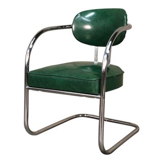 Vintage Chromcraft Mid-Century Modern Arm Chair