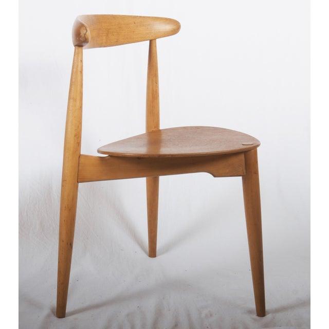 1950s Hans J. Wegner Chair Fh 4103 For Sale - Image 5 of 8