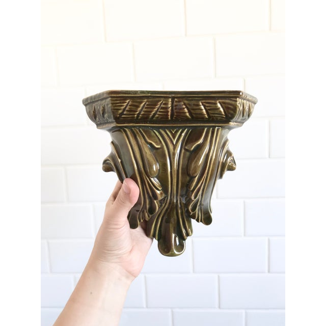 Shabby Chic 1970s Vintage Maximalist Wall Sconce For Sale - Image 3 of 7