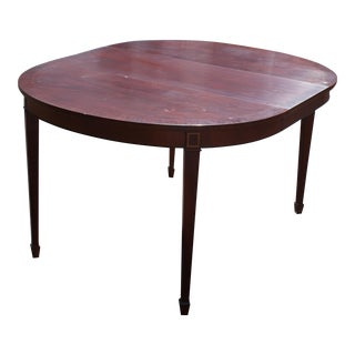 Kindel Mahogany Federal Dining Table For Sale