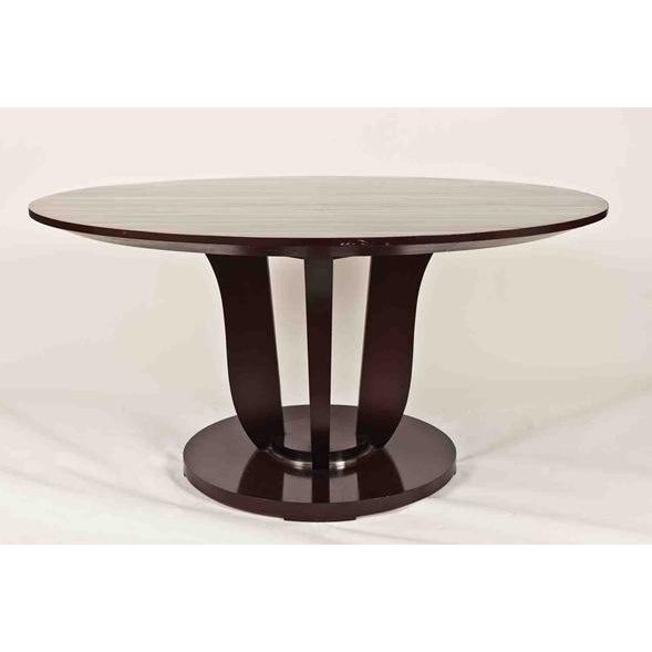 Barbara Barry Round Fluted Dining Table - Image 2 of 9