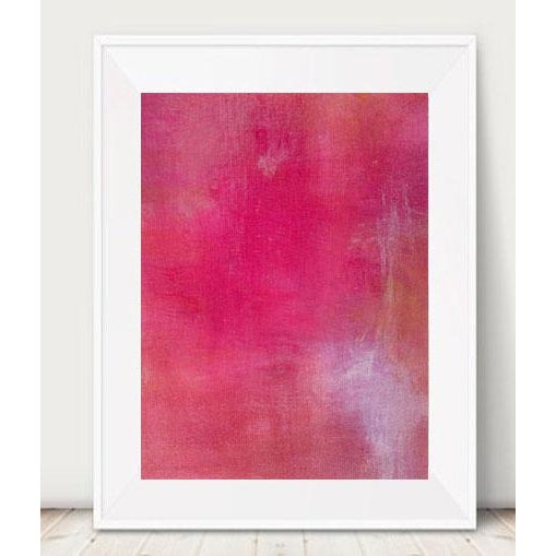 Pink Lemonade Original Modern Abstract Painting - Image 4 of 5