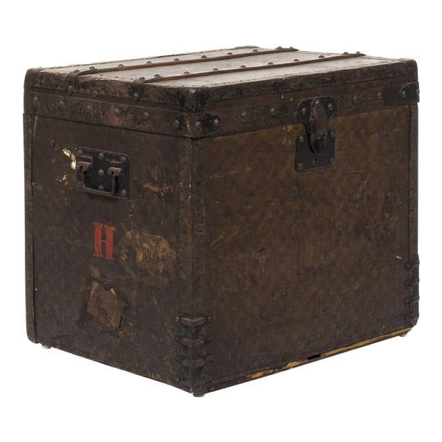 Louis Vuitton 1890 Damier Steamer Trunk For Sale
