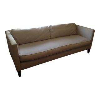 West Elm Light Gray Sofa