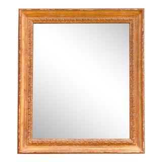 20th Century Hollywood Regency Gilt Wall Mirror For Sale
