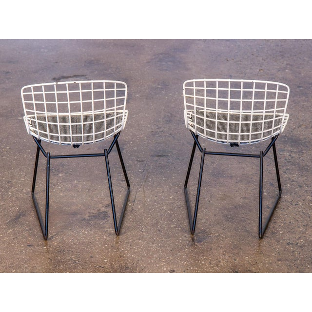 1960s Baby Bertoia Chairs - a pair For Sale - Image 5 of 9