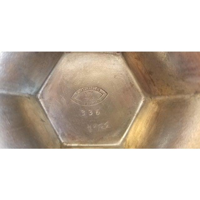 Metal 1920's Vintage Bride's Basket Silver Plate For Sale - Image 7 of 8