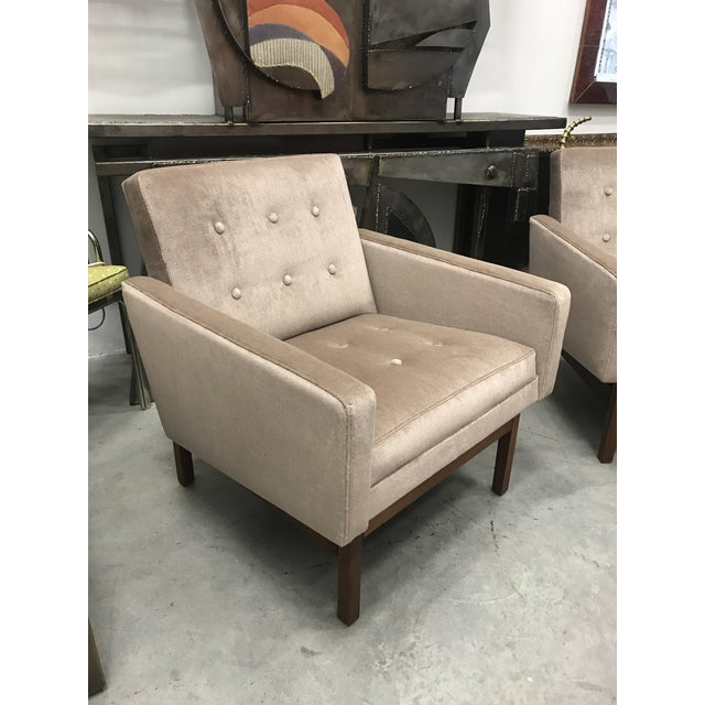 1970s Vintage Danish Club Chairs- A Pair For Sale - Image 4 of 12