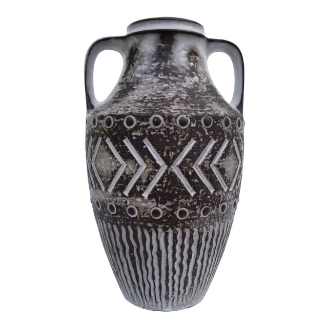 Vintage West German Studio Pottery Vase Chairish