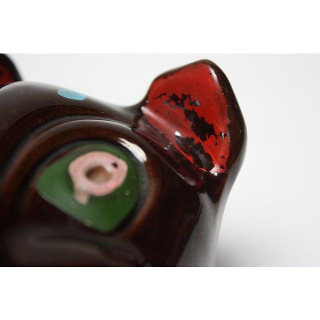 Hand-Painted Folk Art Porcelain 'Pig' Ashtray For Sale - Image 11 of 13