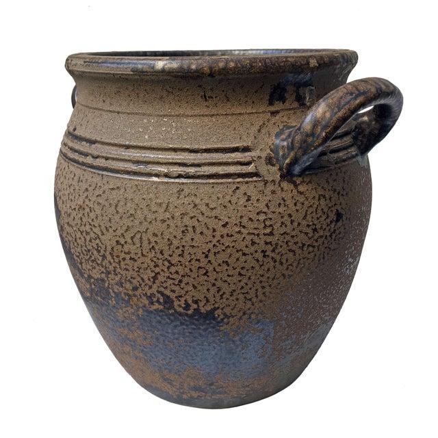 Mid-Century Modern Swedish Höganäs Keramik 8L Crock with Handles For Sale - Image 3 of 8