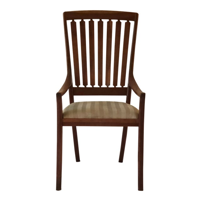 Robert R. Jamieson Vintage Handcrafted Arm Chair For Sale