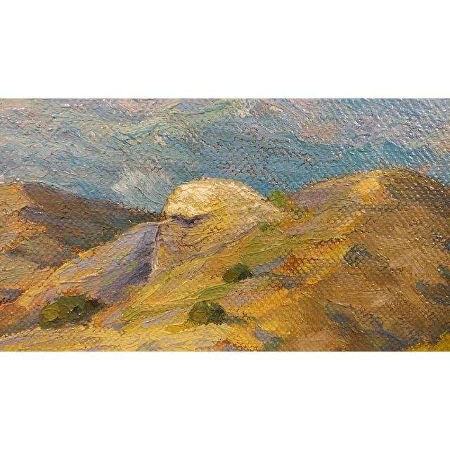 Howard Arden Edwards- Eagle Rock Canyon- California Plein Air Oil Painting c.1925 For Sale - Image 5 of 10