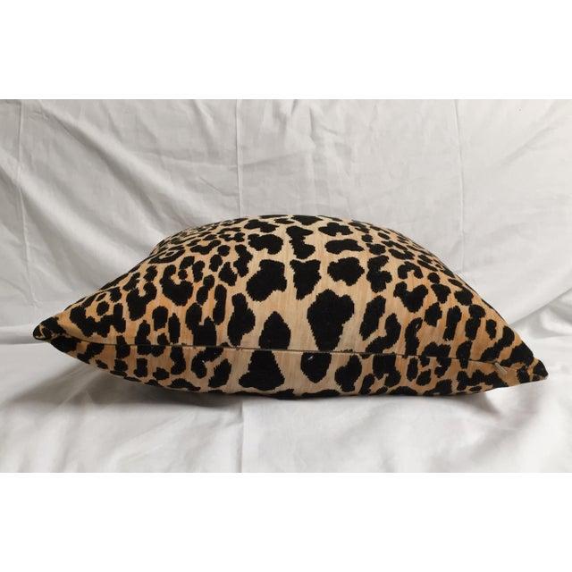 Custom Braemore Leopard Velvet Pillow - Image 3 of 3