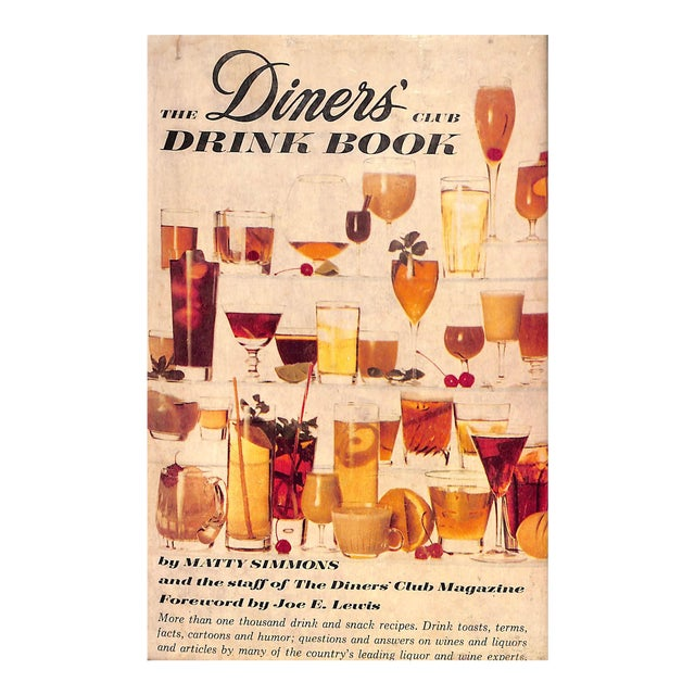 The Diner's Club Drink Book For Sale