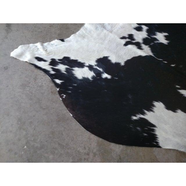 Gambrell Renard Black & White Cowhide Rug - 7′2″ × 7′6″ - Image 3 of 3