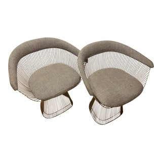 Knoll Warren Platner Chairs- A Pair For Sale