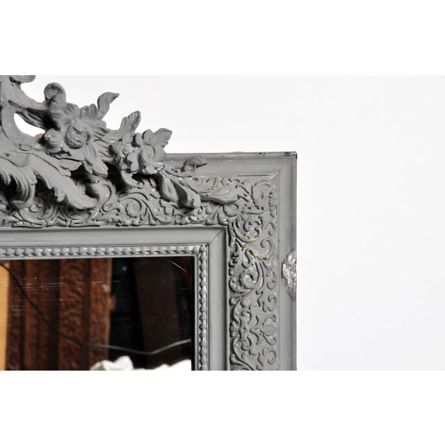 Wood Napoleon III Style Mirror For Sale - Image 7 of 11