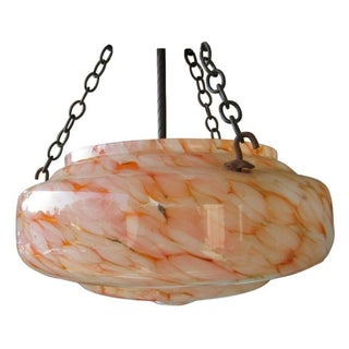 Antique Murano Glass Ceiling Light Fixture