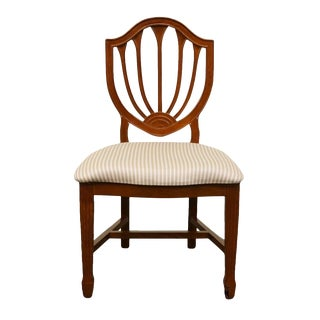 Bombay Co. Duncan Phyfe Shield Back Accent Side Chair For Sale
