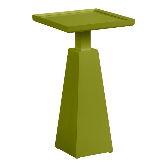 Casa Cosima Hayes Spot Table, Dark Celery For Sale