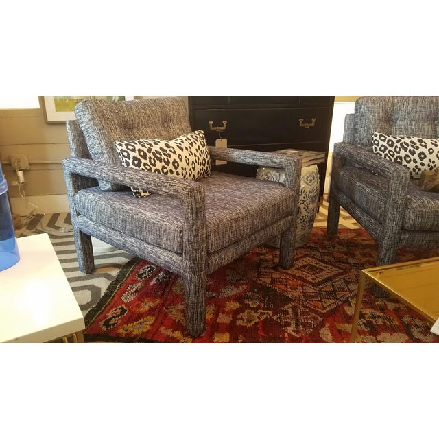 Mid-Century Modern Parsons Chair - Image 7 of 9