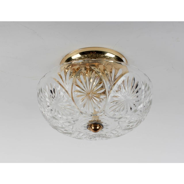American Lantern Company Brass Ceiling Flush-Mount Light - Image 2 of 8