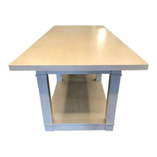 Custom Tritter & Feefer Counter-Height Dining Table For Sale