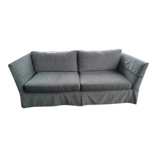 Lee Industries Dark Gray Sofa