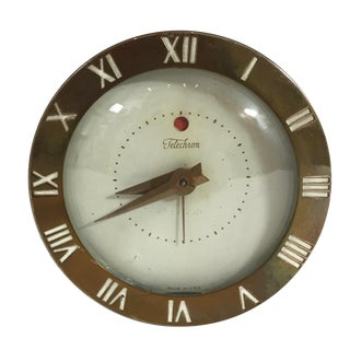 Mid-Century Telechron Lucite Clock For Sale