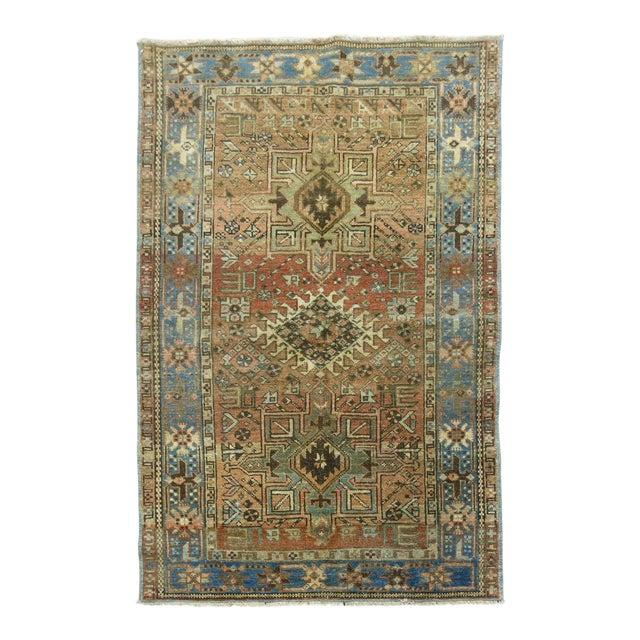 Antique Persian Heriz Rug - 3 x 4'5'' - Image 1 of 6