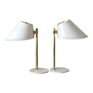 1950s Mid-Century Modern Paavo Tynell Model Table Lamps - a Pair