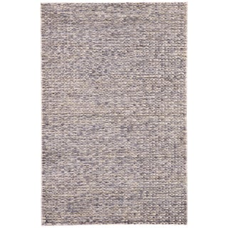 Jaipur Living Calista Natural Blue/ Light Gray Area Rug - 5′ × 8′ For Sale