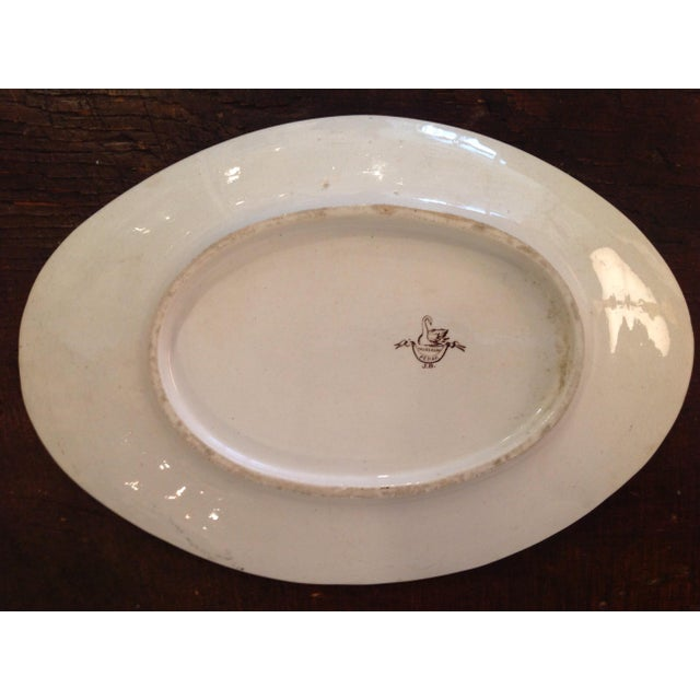 English Aesthetic Movement Oval Casserole With Stand For Sale - Image 4 of 8