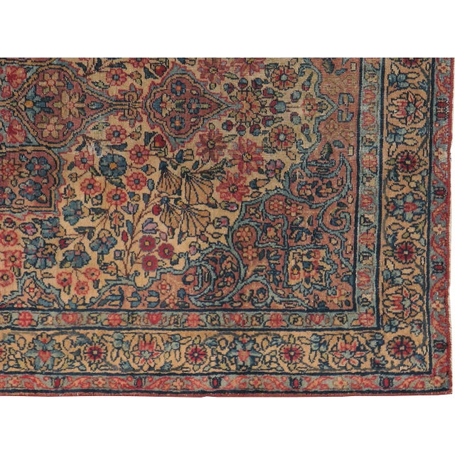"Antique Persian Kerman Rug - 2'11"" x 5'0"" - Image 2 of 3"