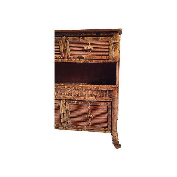 Rattan Storage Cabinet - Image 4 of 7