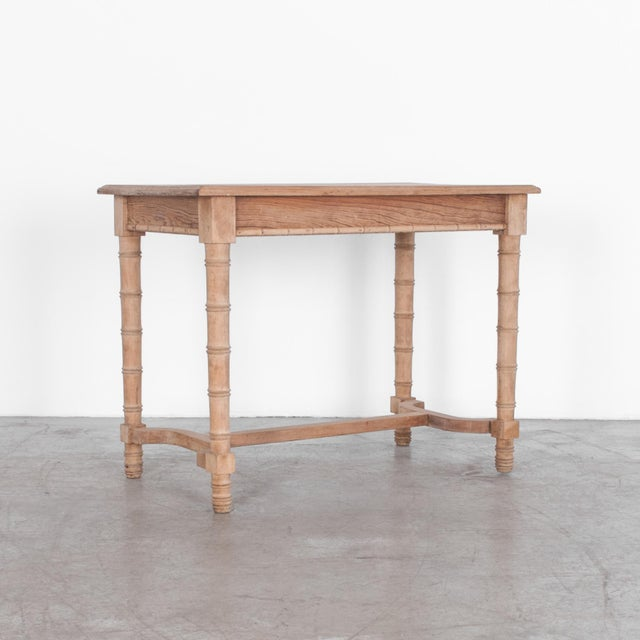 Late 19th Century Antique Faux Bamboo Dining Table For Sale - Image 5 of 5