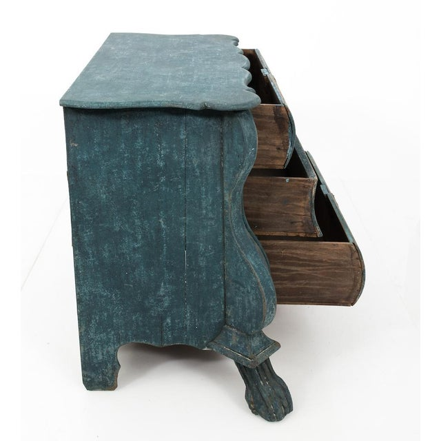 Blue Dutch Blue Bombay Commode For Sale - Image 8 of 11