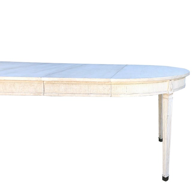 19th Century Gustavian Extension Dining Table For Sale In West Palm - Image 6 of 9