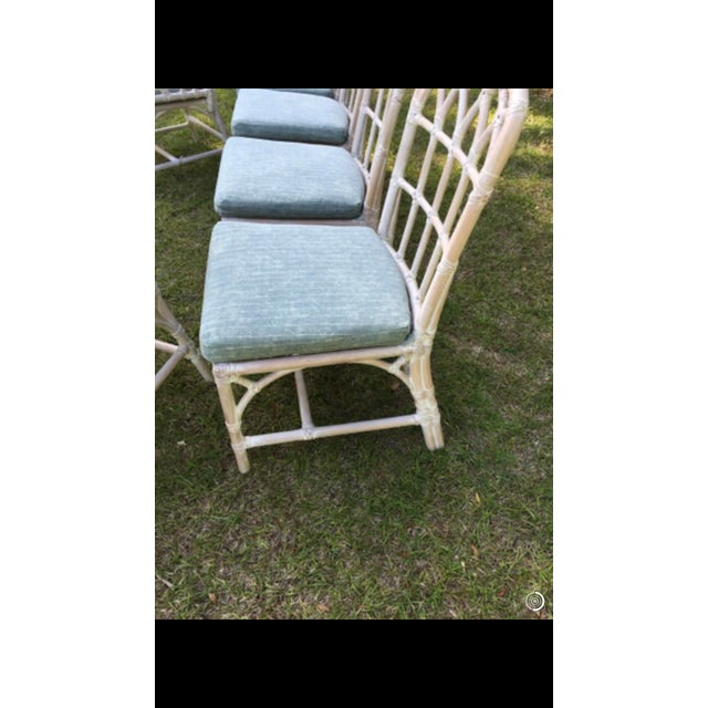 McGuire Bamboo Chinese Chippendale Chairs - Set of 6 For Sale In Charleston - Image 6 of 13