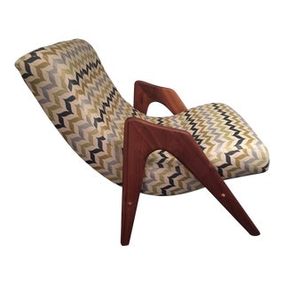 1960s Vintage Sculptural Lounge Chair by Adrian Pearsall For Sale