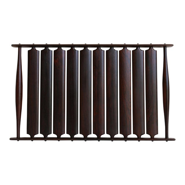 Mid-Century Modern Jens Quistgaard for Dansk Rosewood Tray For Sale In Los Angeles - Image 6 of 6