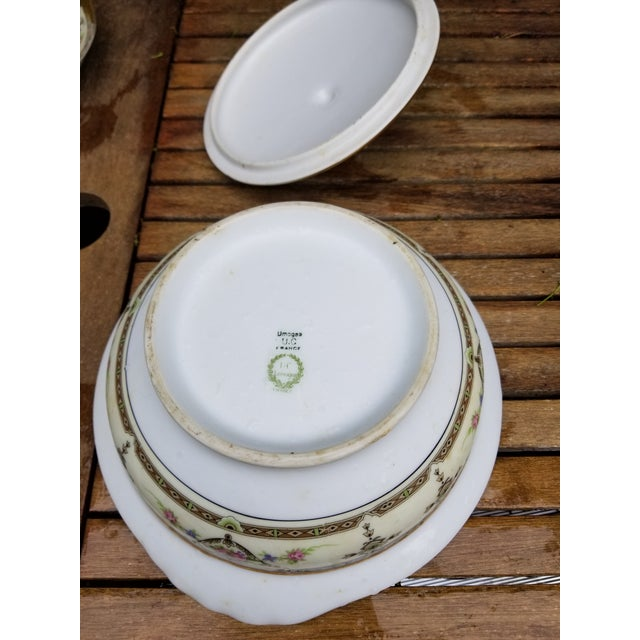 1910s Limoges Uc Lidded Serving Bowl For Sale In New York - Image 6 of 10