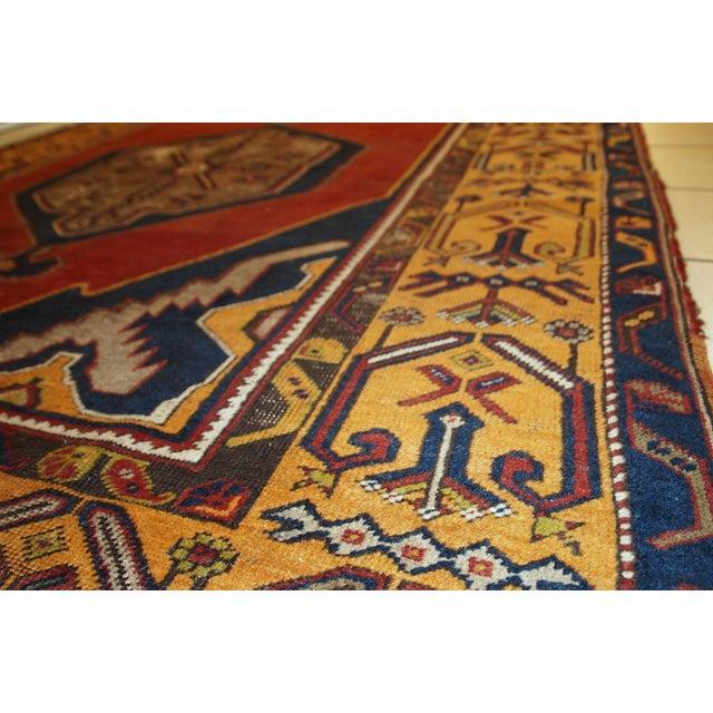 Antique Turkish Anatolian Rug - 4′1″ × 9′1″ - Image 5 of 10