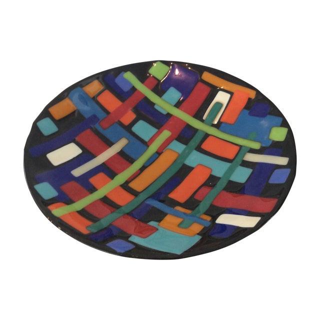 Post Modern Pence Cased Art Glass Bowl - Image 1 of 5