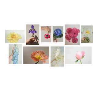 Flowers, 2020' Set of 10 Contemporary Photographs by Claiborne Swanson Frank For Sale