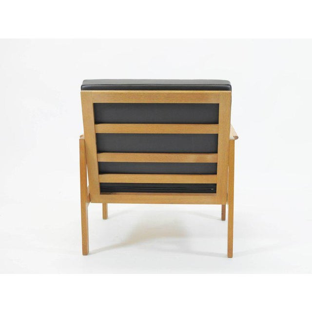 1960s 1960s Illum Wikkelsø Danish Capella Lounge Chair For Sale - Image 5 of 9