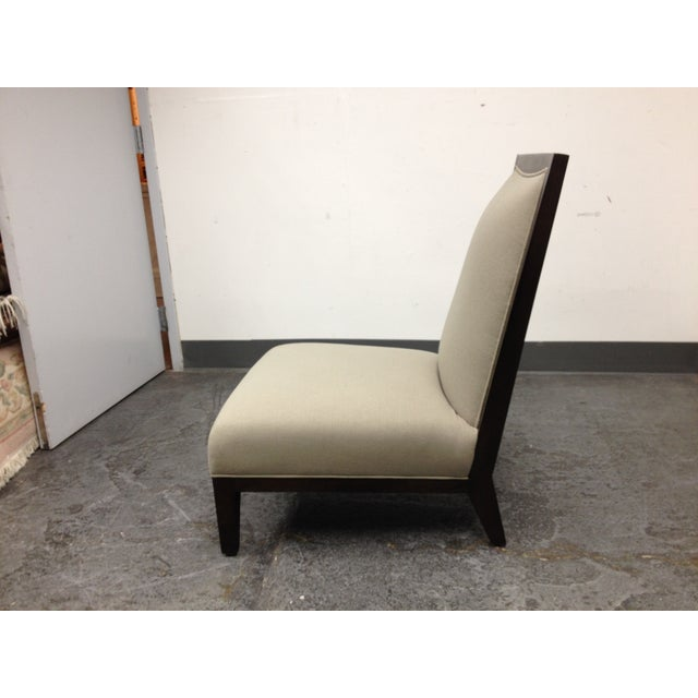 Contemporary Lorin Plain Lounge Chair - Image 5 of 9