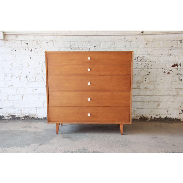 Herman Miller George Nelson for Herman Miller Thin Edge Dresser, Model 4620 For Sale - Image 4 of 11